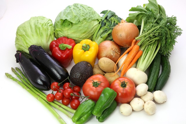 野菜を多めに摂り、食生活に気をつける